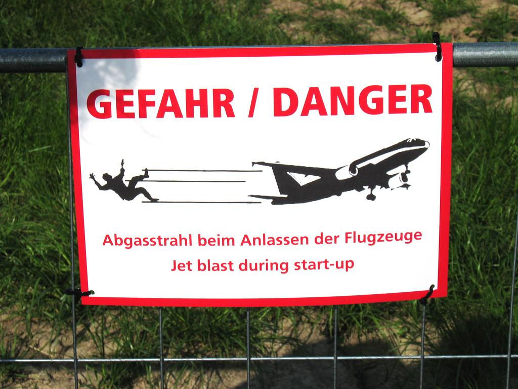 Danger Jetblast
