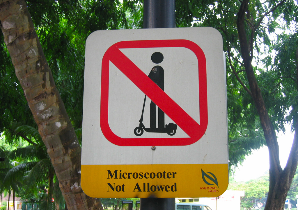 No Microscooters