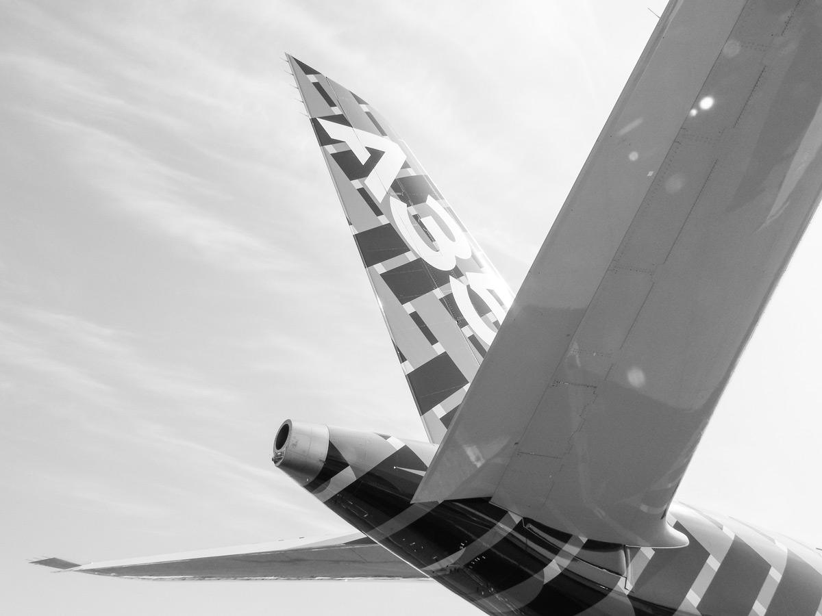 Airbus A350 XWB Tail