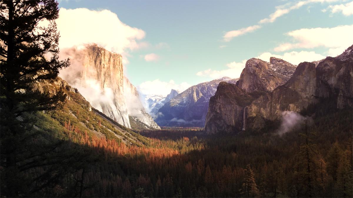 El Captain in Yosemite National Park
